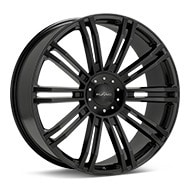 KMC KM677 D2 Black Painted Wheels