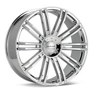 KMC KM677 D2 Chrome Plated Wheels