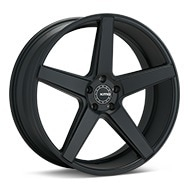 KMC KM685 District Black Painted Wheels