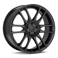 KMC KM696 Pivot Black Painted Wheels
