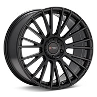 KMC KM706 Black Painted Wheels
