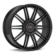 KMC KM707 Black Painted Wheels