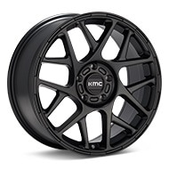 KMC KM708 Black Painted Wheels