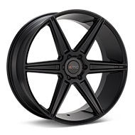 KMC KM712 Prism Truck Black Painted Wheels