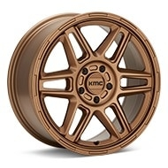 KMC KM716 Nomad Bronze Painted Wheels
