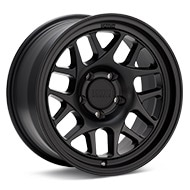 KMC KM717 Black Painted Wheels