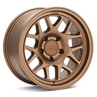 KMC KM717 Matte Bronze Painted Wheels