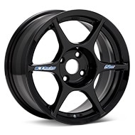 Kosei K1 Racing Gloss Black Painted Wheels