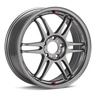 Kosei K1 TS Light Grey Painted Wheels