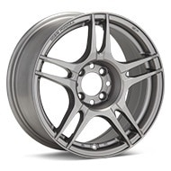 Kosei K5R Light Grey Painted Wheels