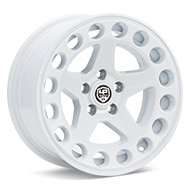 LP Aventure LP5-15 White Painted Wheels