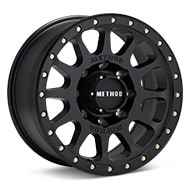 Method MR305 NV HD Black Painted Wheels