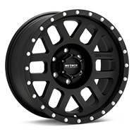 Method MR306 Mesh Black Painted Wheels
