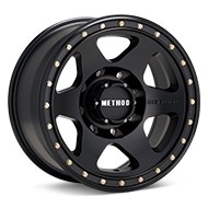 Method MR310 Con6 8-Lug Black Painted Wheels
