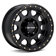 Method MR311 Vex 8-Lug Black Painted Wheels