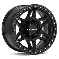 Method MR312 8-Lug Black Painted Wheels