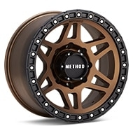 Method MR312 8-Lug Bronze w/Black Lip Wheels