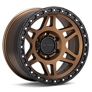 Method MR312 Bronze w/Black Lip Wheels