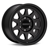 Method MR316 Black Painted Wheels