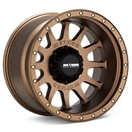 Method MR605 NV 8-Lug Bronze Painted Wheels