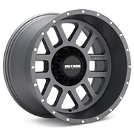 Method MR606 Mesh 8-Lug Titanium Gunmetal Wheels