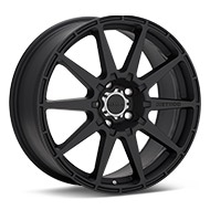 Method Rally Series MR501 Black Painted Wheels