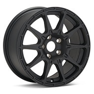 Method Rally Series MR501 VT-Spec Black Painted Wheels