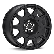 Method Rally Series MR502 Black Painted Wheels
