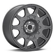Method Rally Series MR502 Titanium Gunmetal Wheels