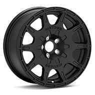 Method Rally Series MR502 VT-Spec Black Painted Wheels