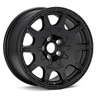 Method Rally Series MR502 VT-Spec 2 Black Painted Wheels