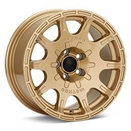 Method Rally Series MR502 VT-Spec 2 Gold Painted Wheels
