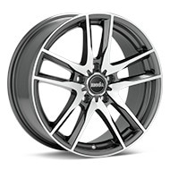 moda MD10 Machined w/Anthracite Accent Wheels