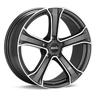 moda MD14 Machined w/Anthracite Accent Wheels