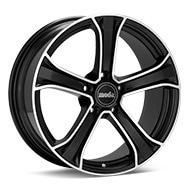moda MD14 Machined w/Black Accent Wheels