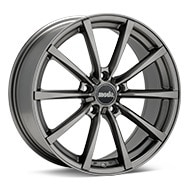 moda MD18 Titanium Gunmetal Wheels