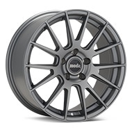 moda MD22 Matte Titanium Wheels