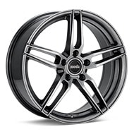 moda MD26 Dark Silver Paint Wheels