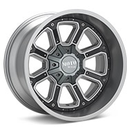MOTO METAL MO984 Matte Grey Wheels