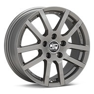 MSW Type 22 Light Grey Painted Wheels