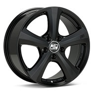 MSW Type 19 Black Painted Wheels
