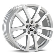 MSW Type 22 Silver Painted Wheels