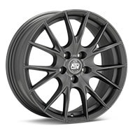 MSW Type 25 Matte Grey Wheels