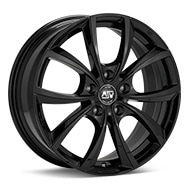 MSW Type 27 Black Painted Wheels