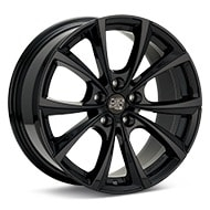 MSW Type 27T Gloss Black Painted Wheels