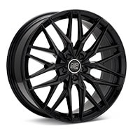 MSW Type 50 Gloss Black Painted Wheels