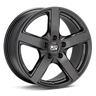 MSW Type 55 Matte Dark Grey Wheels
