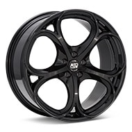 MSW Type 82 Gloss Black Painted Wheels