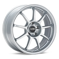 O.Z. Alleggerita HLT Star Silver Paint Wheels