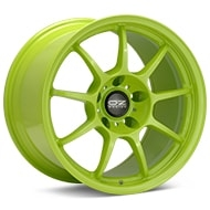 O.Z. Alleggerita HLT Green Painted Wheels